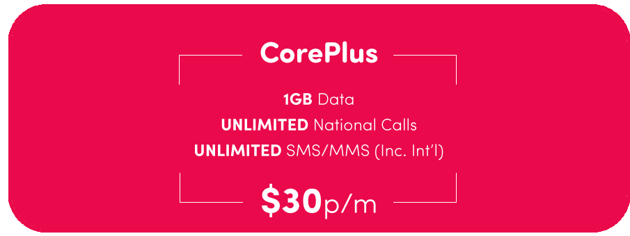 CorePlus Mobile Plans